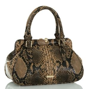 New Brahmin Mini Layla Handbag